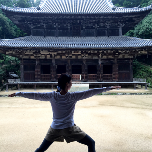 アズ姫路店の「お寺でヨガ」に参加してきました